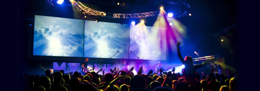 ecran geant spectacle concert